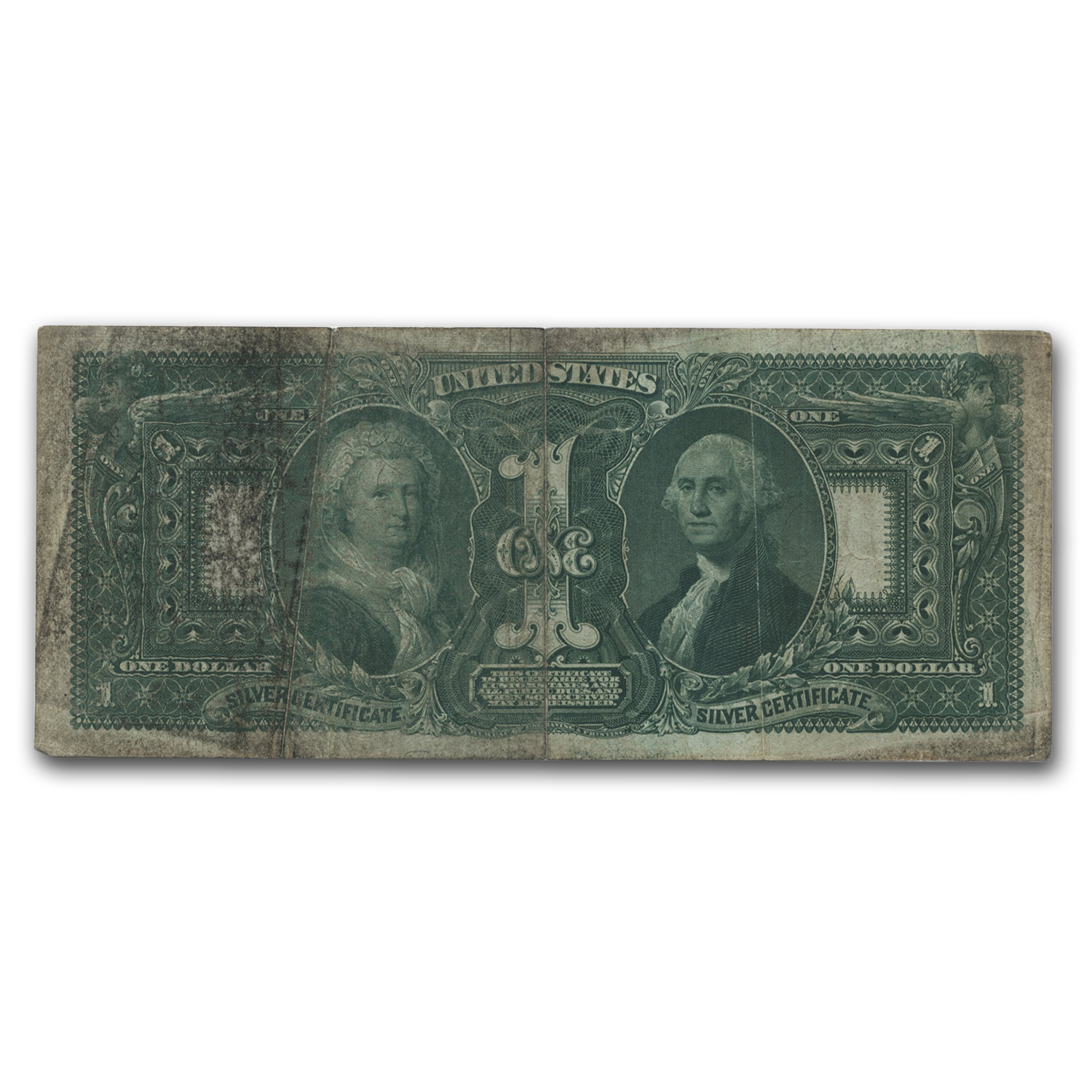 1896 $1.00 Silver Certificate Educational Note  (Very Fine)